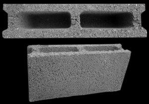 بلوک سبک پوکه ای دوجداره عرض 10 سانتی متر و ضخامت 20 میلی متر